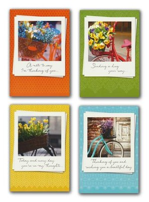 A Tisket a Tasket, Thinking of You Cards, Box of 12    -