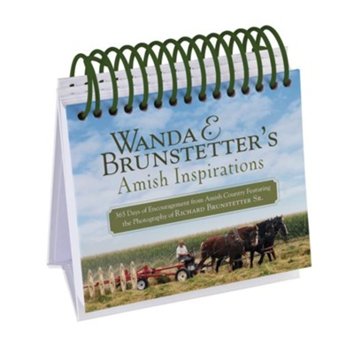 Wanda E. Brunstetter's Amish Inspirations: 365 Days of Encouragement from Amish Country Featuring the Photography of Richard Brunstetter Sr.  -     By: Wanda E. Brunstetter