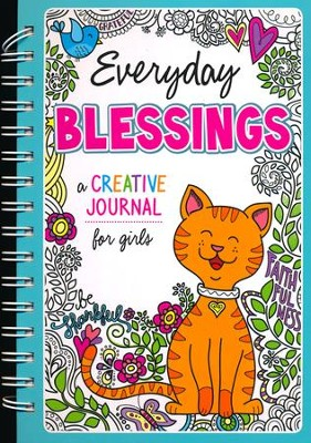 Everyday Blessings: A Creative Journal for Girls  -     By: Karen Mitzo Hilderbrand, Kim Mitzo Thompson