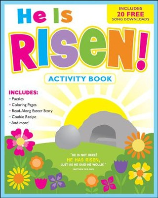He Is Risen!: Activity Book and Free Music Download  -     By: Karen Mitzo Hilderbrand, Kim Mitzo Thompson