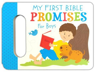 My First Bible Promises for Boys  -     By: Karen Mitzo Hilderbrand, Kim Mitzo Thompson