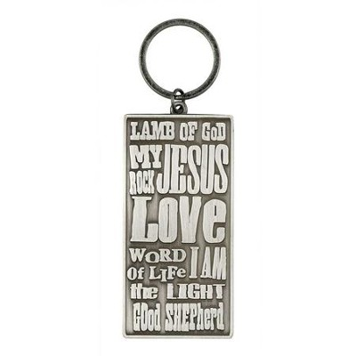 Names of Jesus Keyring  -