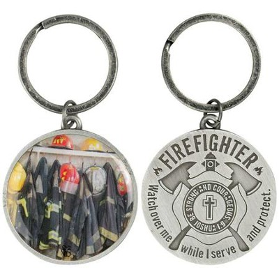 Firefighter's Prayer Keyring  -