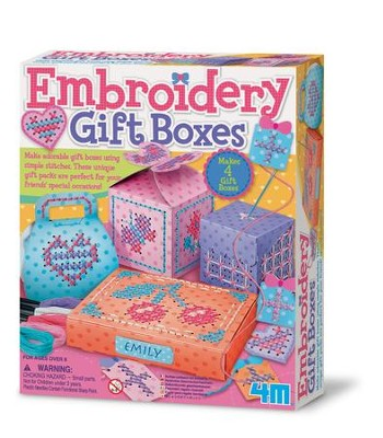 Embroidery Gift Boxes  -