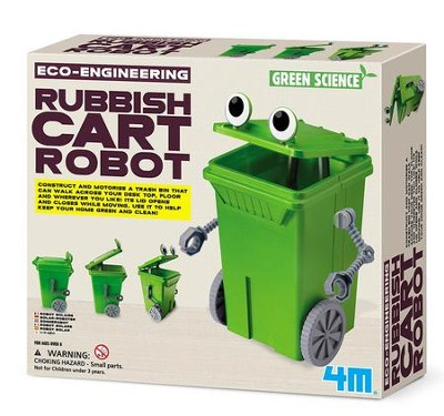 Rubbish Cart Robot  -
