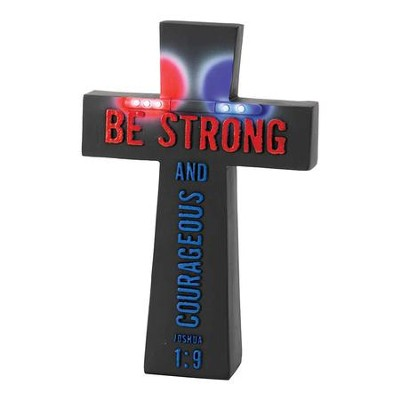 Police Officer's Prayer Cross  -