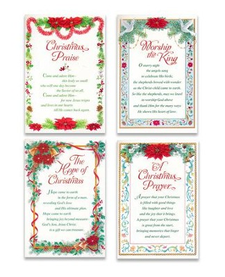 Christmas Inspirations, Assorted Christmas Cards, Box of 12  -
