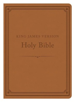 The KJV Compact Gift & Award Bible Reference Edition (Camel)  -