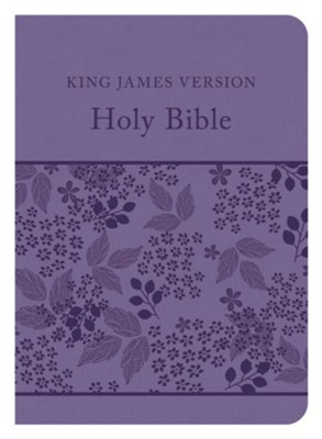 The KJV Compact Gift & Award Bible Reference Edition (Purple)  -