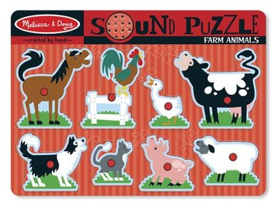 Farm Animals Sound Puzzle   -