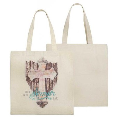 Put on the Full Armor of God Tote Bag  -