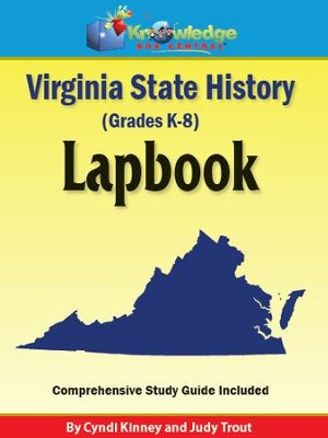 Virginia State History Lapbook - PDF Download  [Download] -     By: Cyndi Kinney, Judy Trout