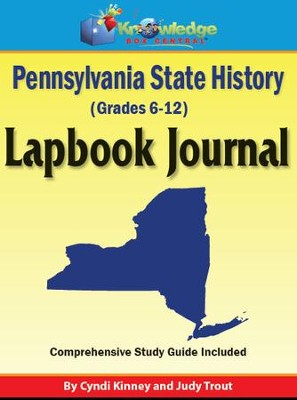 Pennsylvania State History Lapbook Journal - PDF Download  [Download] -     By: Cyndi Kinney, Judy Trout