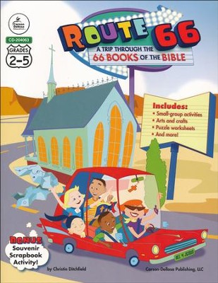 Route 66: A Trip Through the 66 Books of the Bible   -     By: Christin Ditchfield