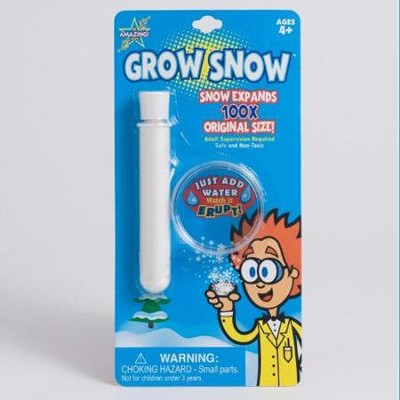 Grow Snow (Blister Card Packaging)   -