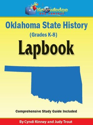 Oklahoma State History Lapbook - PDF Download  [Download] -     By: Cyndi Kinney, Judy Trout
