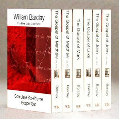 The Gospels Set, 6 Volumes: New Daily Study Bible [NDSB]    -     By: William Barclay
