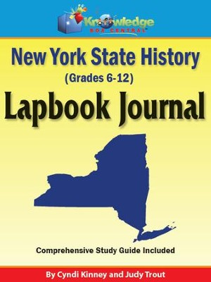 New York State History Lapbook Journal - PDF Download  [Download] -     By: Cyndi Kinney, Judy Trout