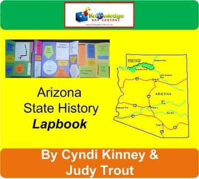 Arizona State Map Pdf.Arizona State History Lapbook Pdf Download Download Cyndi