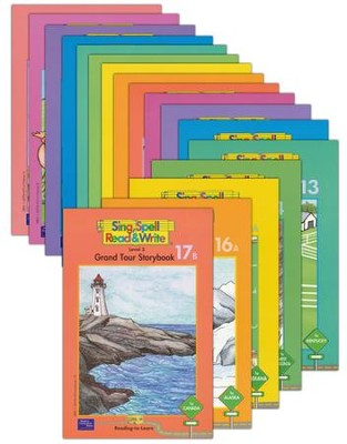 Sing, Spell, Read & Write Level 3 Storybook Readers (17 Titles)  -