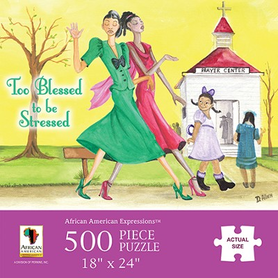 Too Blessed to Be Stressed Puzzle  -
