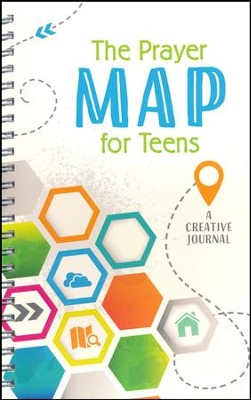 Prayer Map for Teens: A Creative Journal  -     By: Compiled by Barbour Staff