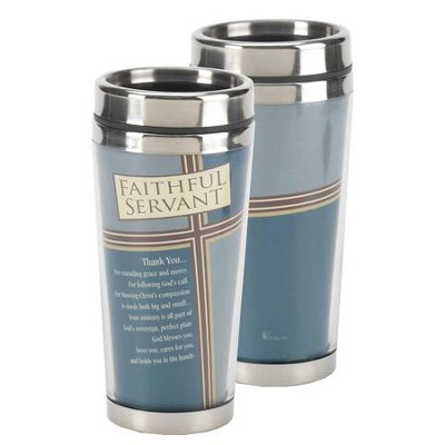 Faithful Servant Stainless Steel Travel Mug  -