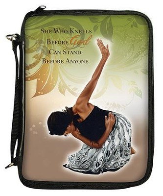 She Who Kneels Bible Organizer Cover  -