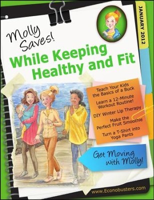 Molly Saves While Keeping Healthy and Fit - PDF Download  [Download] -     By: The Old Schoolhouse