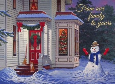 Warm Welcome, 20 Count Boxed Christmas Cards  -