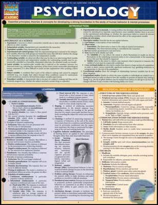 Psychology of Relationships Quick Study Chart   -     By: Homeschool