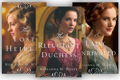 Ladies of the Manor Series, Volumes 1-3  -     By: Roselanna M. White