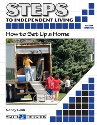 Steps to Independent Living: How to Set Up a Home, 3rd Edition - PDF Download  [Download] -     By: Nancy Lobb     Illustrated By: David Strauch