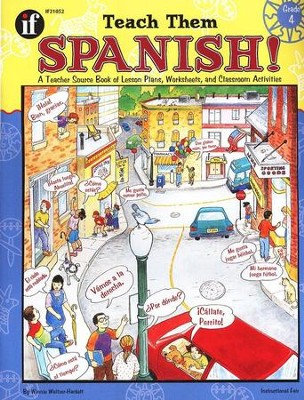 Teach Them Spanish! Grade 4  -