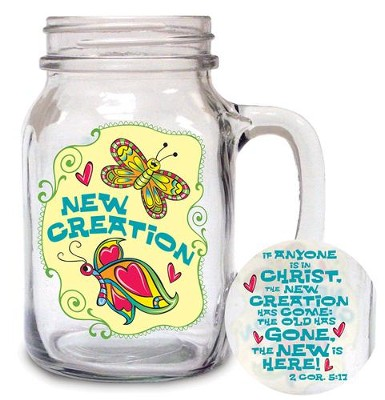 New Creation Glass Mug  -