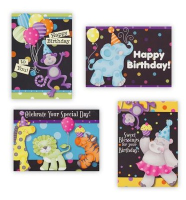 Happy Birthday For Kids, Boxed Cards, Box of 12  -