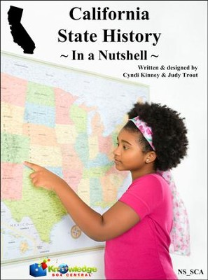 California State History In a Nutshell - PDF Download  [Download] -     By: Cyndi Kinney, Judy Trout