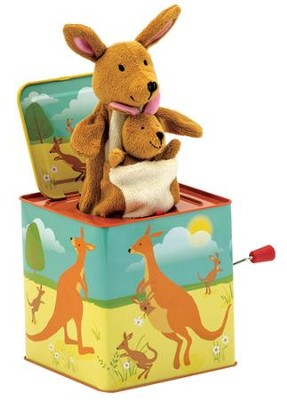 Kangaroo Jack-In-the-Box  -