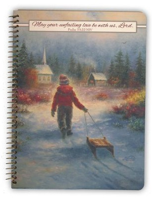 May Your Unfailing Love Be With Us Lord, Notebook, Medium  -     By: Vickie Wade