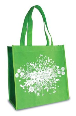 All Things are Possible, Eco Tote  -