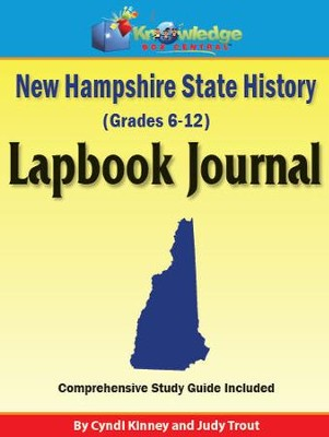 New Hampshire State History Lapbook Journal - PDF Download  [Download] -     By: Cyndi Kinney, Judy Trout