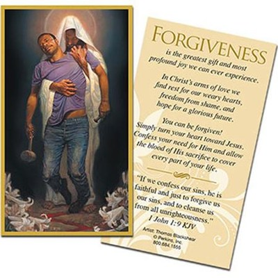 Forgiven Witness Cards, Package of 25  -     By: Thomas Blackshear