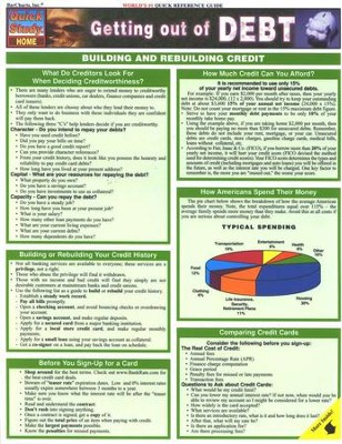 Getting out of Debt Chart   -