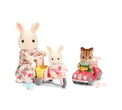 Calico Critters, Apple and Jake's Ride and Play  -