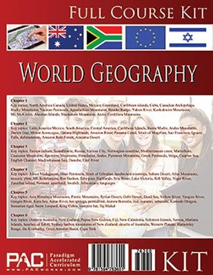 World Geography, Full Course Kit   -