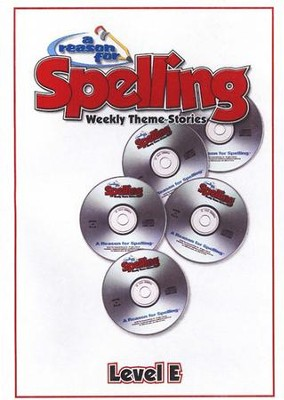 A Reason For Spelling Level E, Audio CD's   -