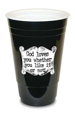 God Loves You, Black Solo Cup  -