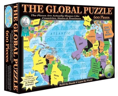 The Global Puzzle, 600 Piece Puzzle   -