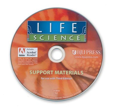 Life Science Support Materials CD-Rom (3rd Edition)   -     By: Brad R. Batdorf, Thomas E. Porch