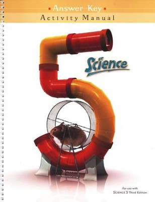 BJU Press Science 5 Activities Manual Teacher's Edition, 3rd Ed.      -